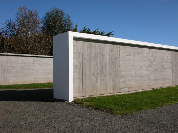 Extension du cimetière - Locquirec