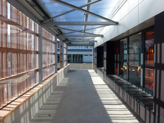 réfectoire école Paul Eluard à Brest